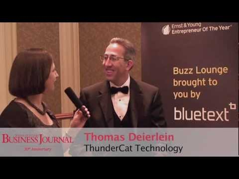 Thundercat Technology on Ernst   Young Announces Thundercat Technology Ceo Tom Deierlein Is The