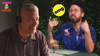 Curly's Dad Sets Him Up On A Blind Date // Presented by BuzzFeed & Netflix
