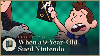 When a 9-Year-Old Sued Nintendo | Gaming Historian