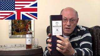 Whisky Review/Tasting: Macallan 18 years Sherry Cask