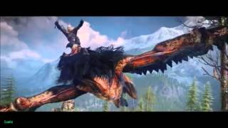 The Witcher III: Wild Hunt GMV- Fly on the Wall (Thousand Foot Krutch)