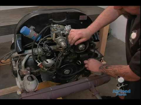 Adjust VW Fan Belt.mov - YouTube