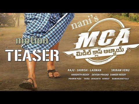 Nani Mca Movie First Look Motion Teaser Natural Star Nani