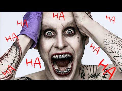 Jared Leto Joker Laugh, Joker Voice, and Joker Face!