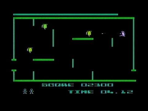 Atari 5200: K-Razy Shoot-Out [CBS Electronics]