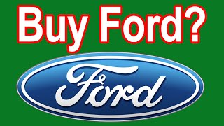 Ford Stock Analysis - is Ford's Stock a Good Buy Today