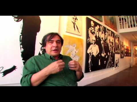 Blek le Rat Interview on Street Art -Warholian- White Walls