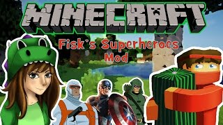 Fisk's Superheroes mod FULL REVIEW - Flash, Avengers, crafting and more!