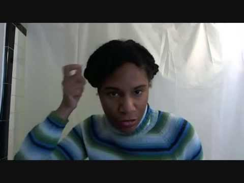 "Natural Hair Tutorial: ""Two Strand Twist Pin Up"""