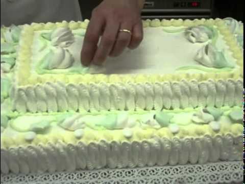 ... torta Nuziale Wedding cake decorated with flowers - YouTube