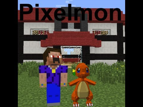 Pixelmon Let's Play Episode 1 Finding a Pokemon center