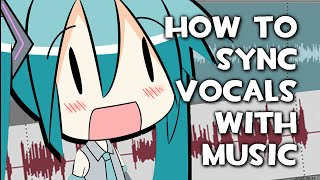 Tutorial - How to Sync Vocals With Instrumentals [VOCALOID]