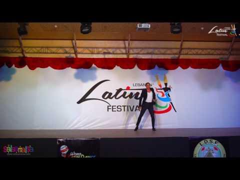 Rodrigo Cortazar Dance Performance | Lebanon Latin Festival 2016