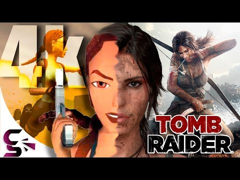 The Evolution of Graphics in 4K: Tomb Raider (1996 - 2015)