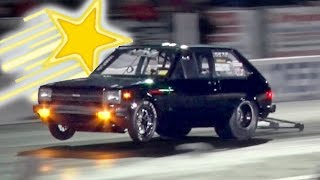 WORLD RECORD Rotary Powered Toyota Starlet!!!