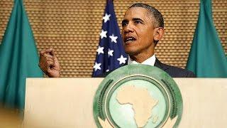 Afrika Birliği'nde Konuşan Barack Obama'dan Eşitlik Vurgusu