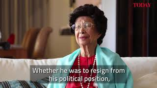 Interview with Dr Siti Hasmah on Mahathir