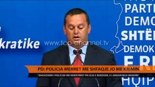 PD: Policia merret me shfaqje, jo me krimin - Top Channel Albania - News - Lajme