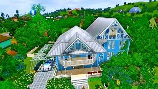 """Симс 3 Строительство дома в стиле """"Прованс""""."""