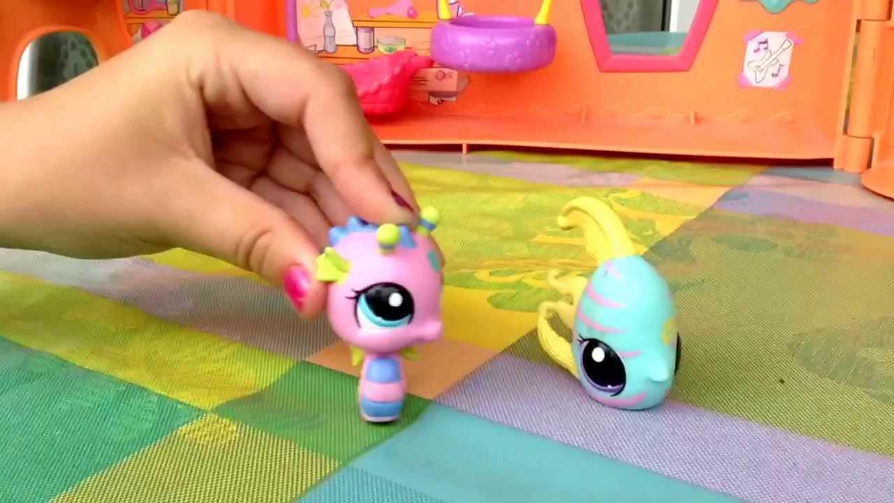 Littlest Pet Shop Seahorse Littlest Pet Shop Swimmy And