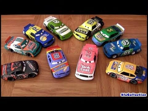 10 Racers Disney Cars Synthetic rubber tires K-mart K-day 2011 Disney Mattel toys