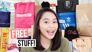 PR Unboxing Haul! FREE STUFF! (Philippines) | ThatsBella
