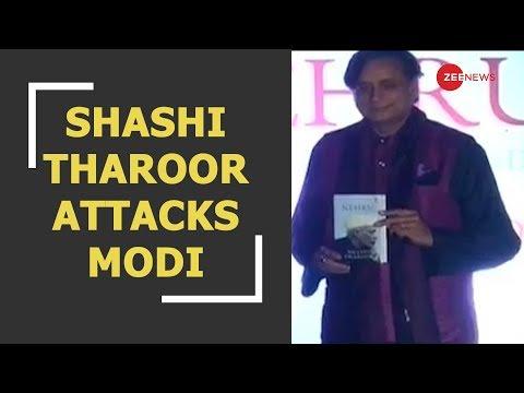 Breaking: India has chaiwala as PM because of Nehru, says Shashi Tharoor