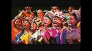 Hosanna By The Soweto Gospel Choir Lyrics