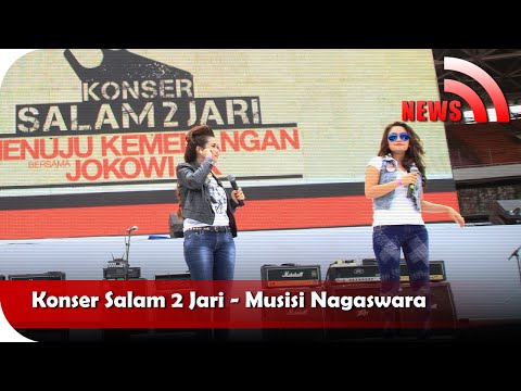 Nagaswara News - Konser Salam 2 Jari - Tv Musik Indonesia video