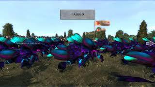 Warcraft: Total War: The Drakkari Trolls VS the Kingdom of Azjol'Nerub! (NEW rosters!)