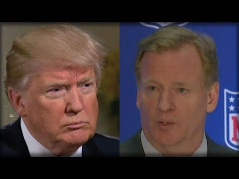 AFTER GOODELL SAID PLAYERS COULD STILL KNEEL, TRUMP CRUSHED THE NFL WITH THESE SIX WORDS