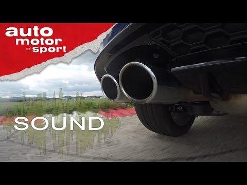 VW Golf R - Sound | Auto Motor Und Sport