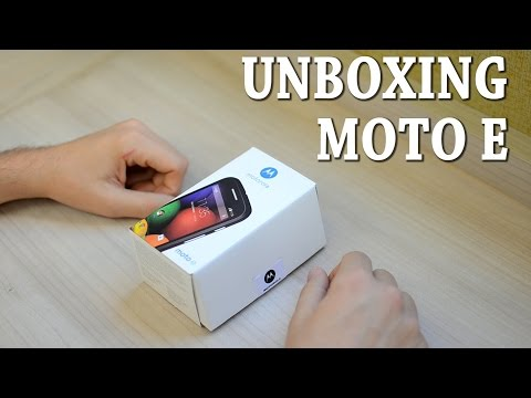 Moto E - [Unboxing] - Conheça o novo celular de baixo custo da Motorola!