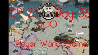 Call of War 1942 100 Player Fan Game, Day 36 late, EP23