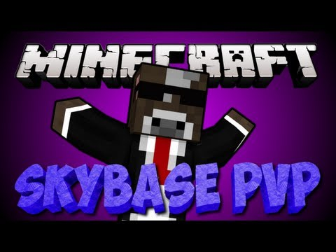 how to make a skybase in minecraft