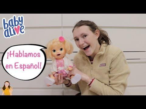 Hablo en Español con Baby Alive Kaylee! | Kelli Maple