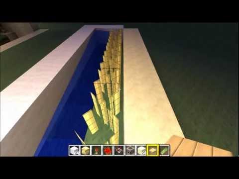 Minecraft: Perfect Automatic Surgarcane Farm + Tutorial