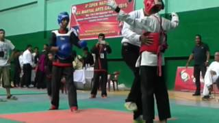 Jeet kune do Assam(black) vs Manipur(white)