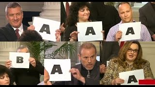 "Confused Trump Supporters Give Trump an ""A"""