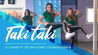 Taki Taki - DJ Snake ft. Selena Gomez, Ozuna, Cardi B - Easy Dance Video - Choreography #Takitaki