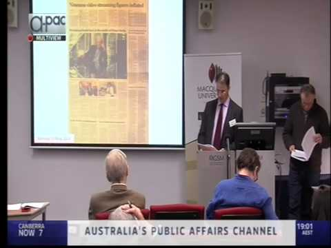 Paper on The Media supplement, at symposium marking 50 years of The Australian, 7 July 2014, PART 1