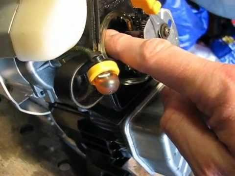 Weed Eater Repair >> Ryobi 705R strimmer/weed eater repair - YouTube