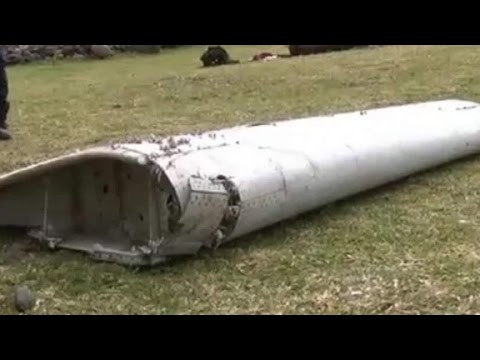 Source: Debris consistent with a Boeing 777 like MH370