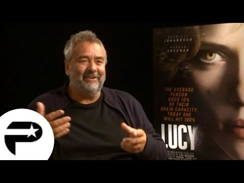 Interview exclusive - Luc Besson pour son film Lucy