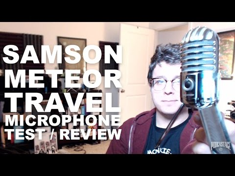 Samson Meteor USB Microphone Review / Test