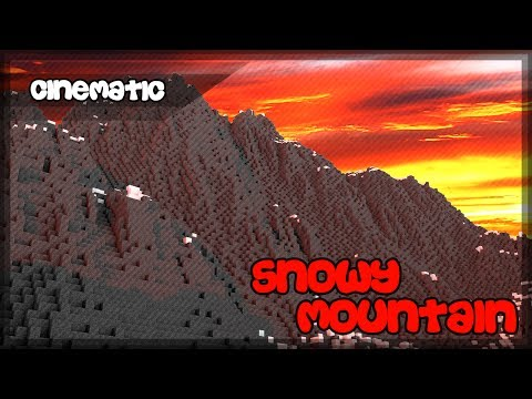 Minecraft Cinematic | Snowy Mountain