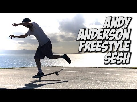 ANDY ANDERSON INSANE FREESTYLE SESH AND MUCH MORE !!! - NKA VIDS -