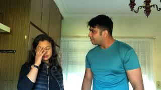 ਸੈਮੀ ਦੀ ਜਾਨ ਨੂੰ ਸੋ ਸਿਆਪੇ | Punjabi Funny Video | Latest Sammy Naz | Husband Wife Vines