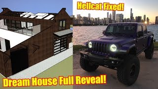 My Hellcat Jeep is Fixed ft. Dream House Reveal!