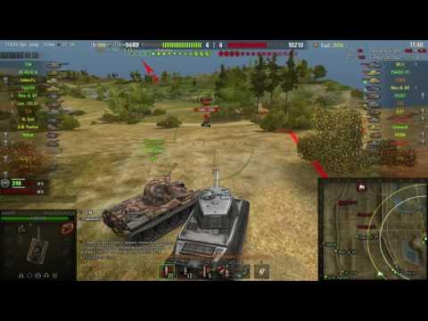 Мой самый легкий ,, Решающий вклад '' [ World of Tanks ]
